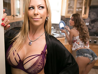 Mommy's good girl! - Rebel Lynn and Alexis Fawx