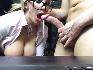 Great comme ci milf sucks and fucks her teacher