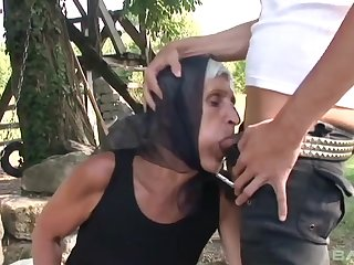 Old Rearward And Begging Give Cum - Granny Porn Collection