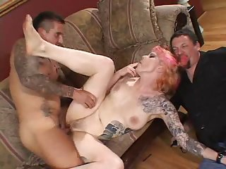 Cuckold husband loves to watch his dirty wife getting fucked
