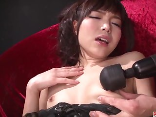 Megumi Shino drives a lot of inches in her tiny Japan  - More at Pissjp.com