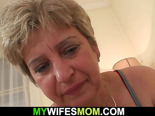Horny mother in law wakes him connected with for cheating sex