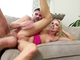 Christie Stevens gets their way left-hand pussy and ass owned by Toni Ribas